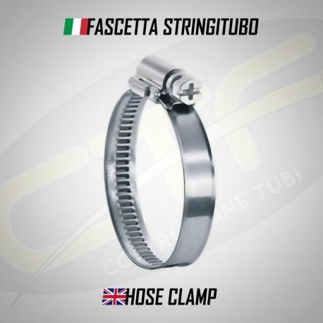 Fascetta Stringitubo a Vite  - 140mm/160mm